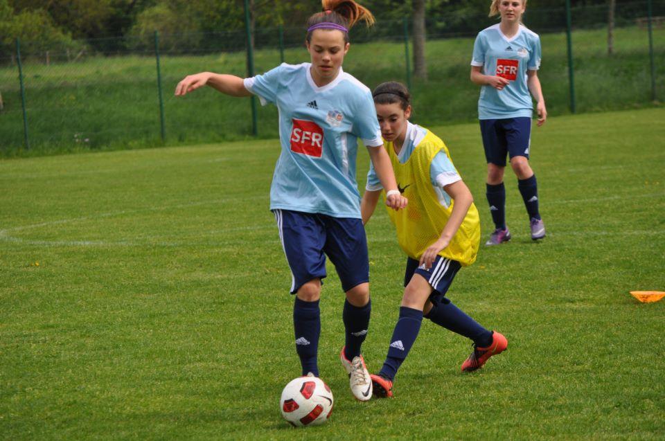 Justine PREZEAU en Coupe Nationale - Vendée Fontenay Foot (4)
