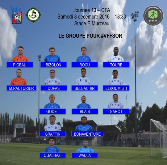 Groupe : VFF - SO Romorantin