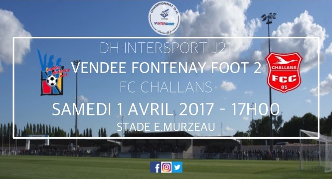 DH : VFF 2 - FC CHALLANS