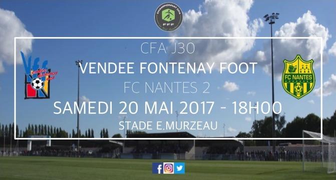 CFA : VFF - FC NANTES
