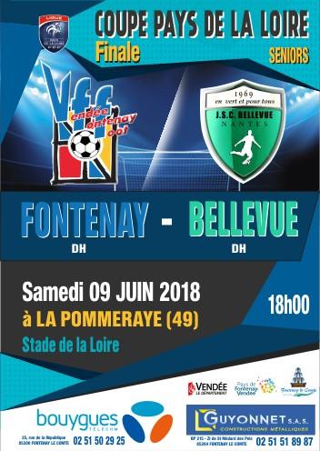 Affiche FINALE Coupe LFPL Seniors