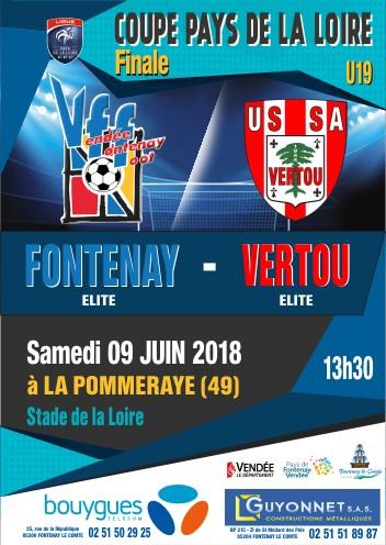 Affiche FINALE Coupe LFPL U19