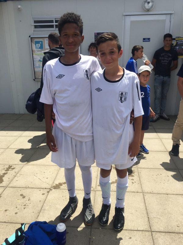 Ibrahim CLAIN et Robin BUOT