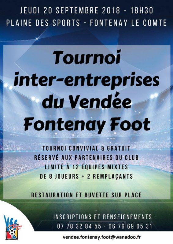 Affiche tournoi inter-entreprise VFF2018