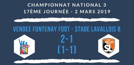 Championnat national 3 17J VFF stade lavallois