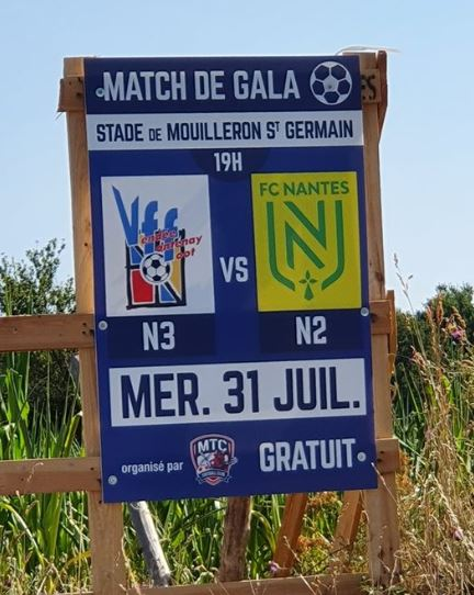 Affiche Match N3 à Mouilleron