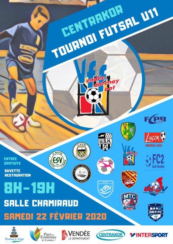 affiche tournoi futsal 2020